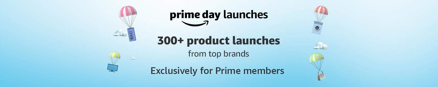 300+ Product Launches from Top Brands Exclusively on Prime Day