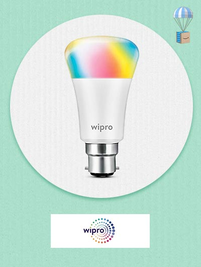Wipro Bluetooth & WiFi Smart Bulb