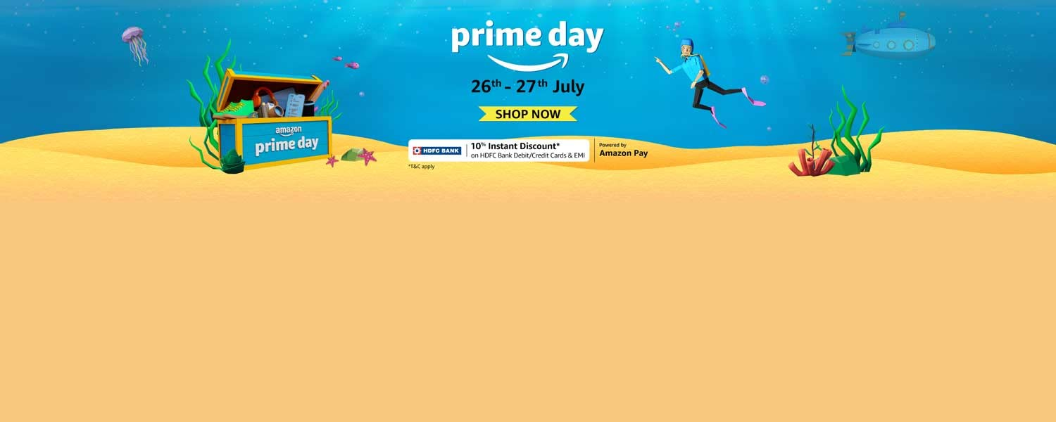 Sale live for Prime members