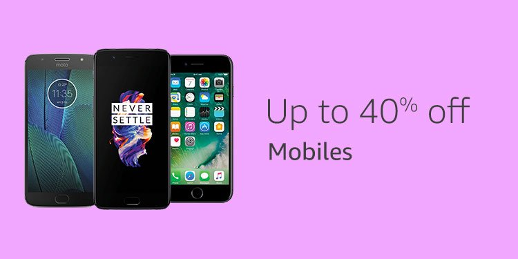 Up to 40% mobiles