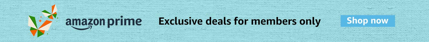 Exclusive deals from top brands- Join Prime