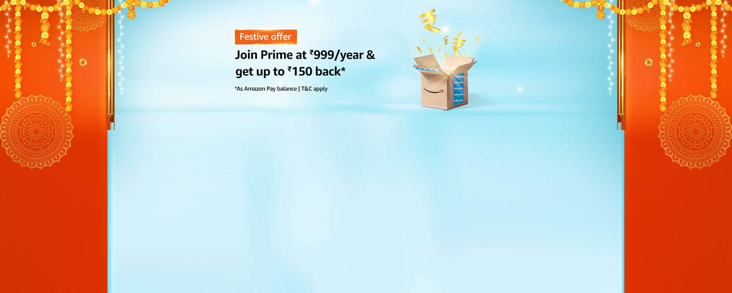 Amazon Latest Offers & Discount Codes - Avail Up to ₹150 Cash-Back on  Join Annual Prime