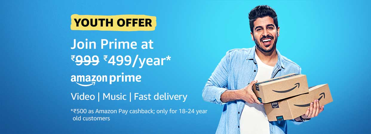 Youth Offer - Join Prime at 50% off