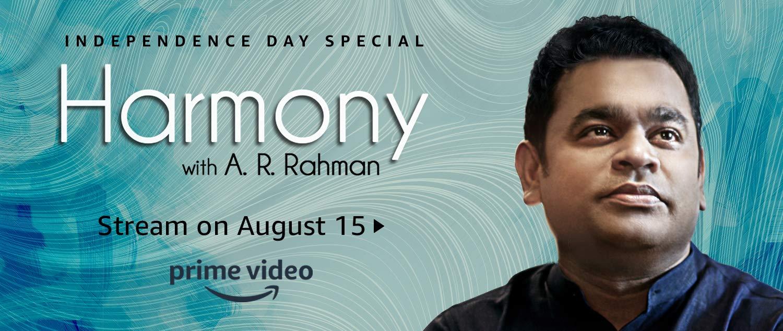 Harmony with A.R Rahman