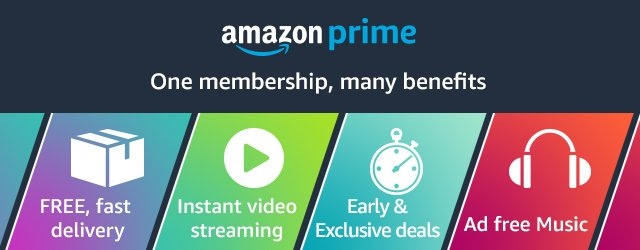 Amazon Prime: One membership, many benefits