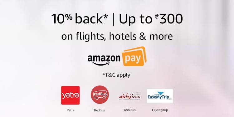 10% back on Flight hotels & more