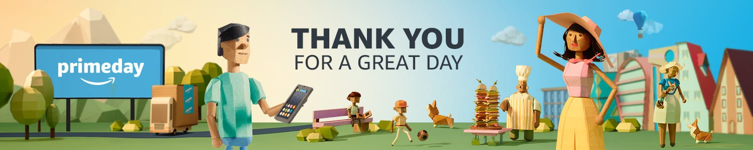 Prime Day | Thank you for a great day
