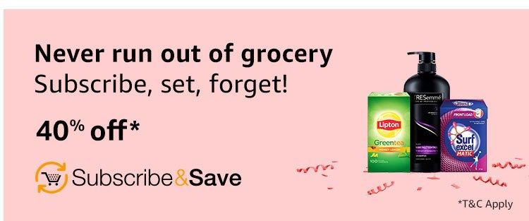 Minimum 50% off subscribe & save