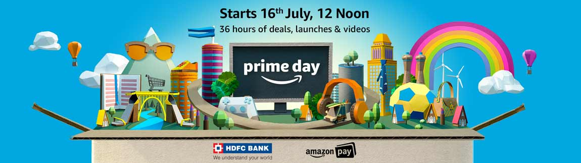 Prime Day starts 16th July, 12 Noon