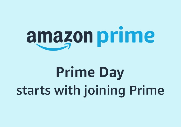 Prime Day starts with joining Prime