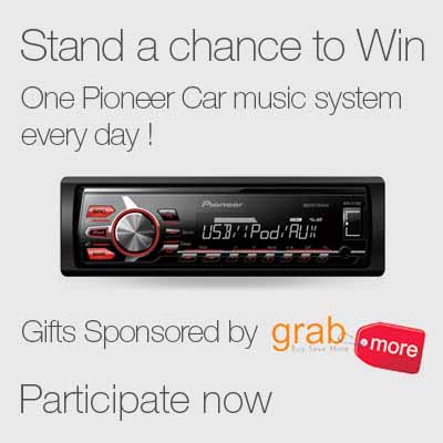 The Junglee Auto Mela contest is on. Ends: March 8, 2015