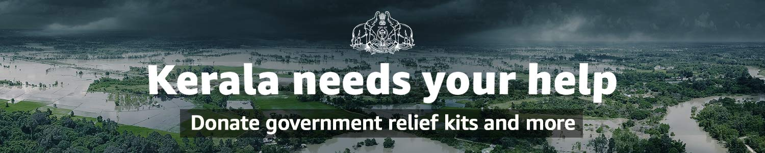 Donate for flood relief in Kerala
