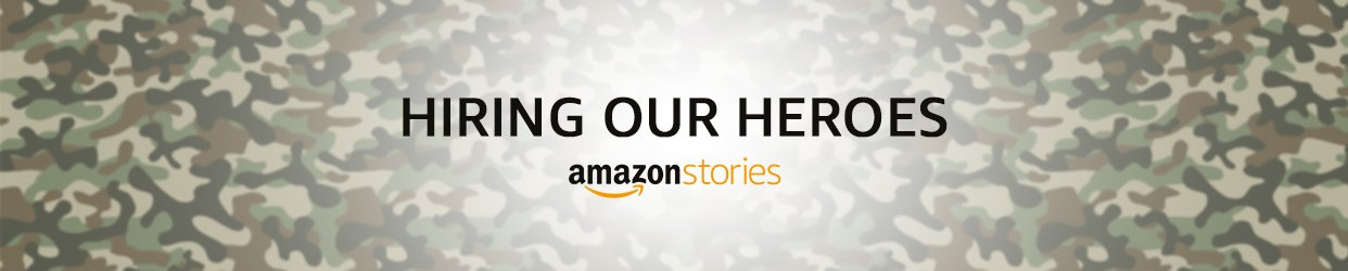 Amazon Stories Hiring veterans INdia