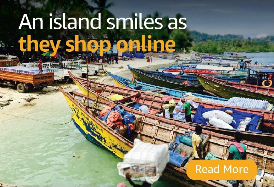 Amazon reaches Andaman