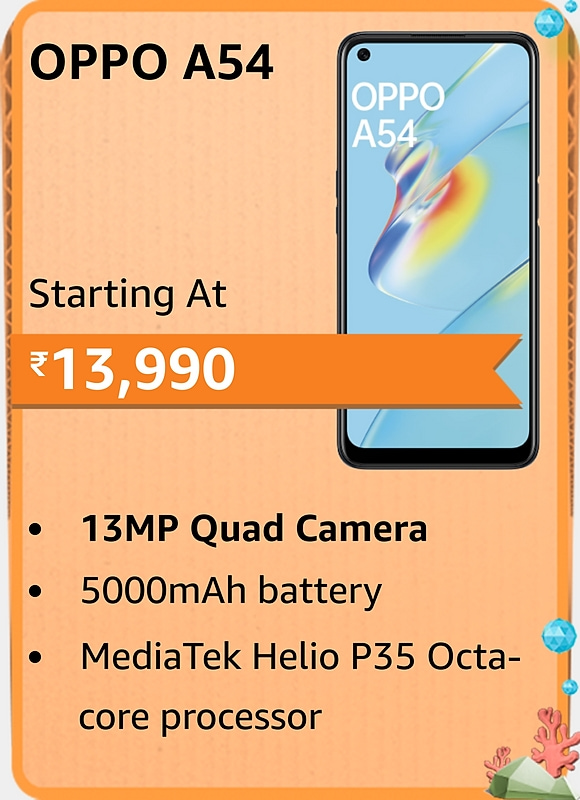 Amazon prime Day 2021 offer on Oppo A54