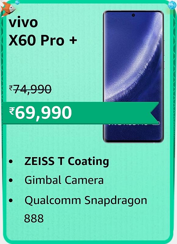 Amazon prime Day 2021 offer on Vivo X60 Pro +