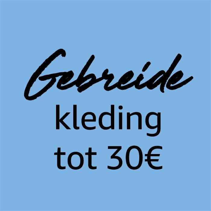 Gebreide voor minder dan €30