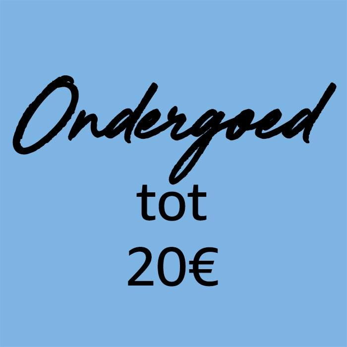 Ondergoed voor minder dan 20 €