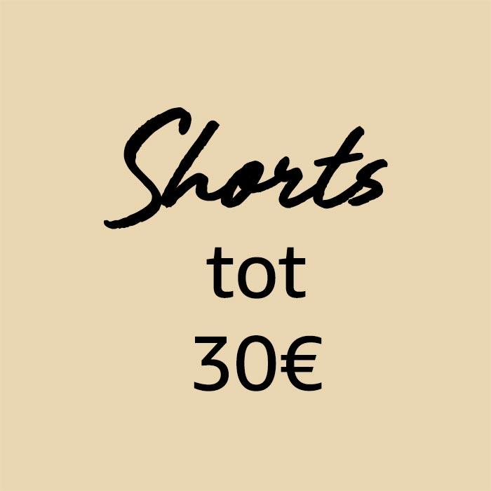 Shorts van minder dan €30