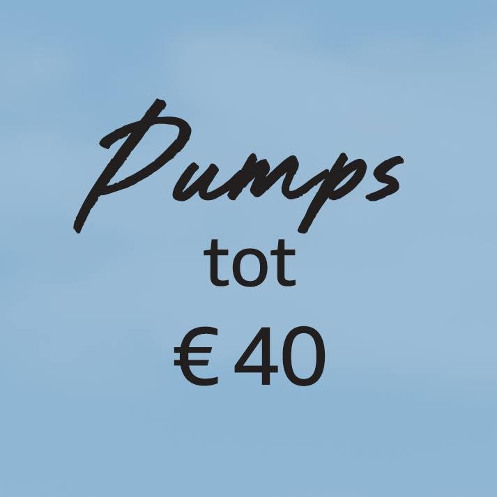Pumps tot € 40