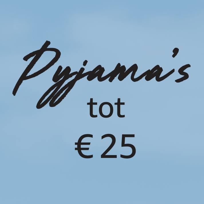 Pyjama's tot € 25