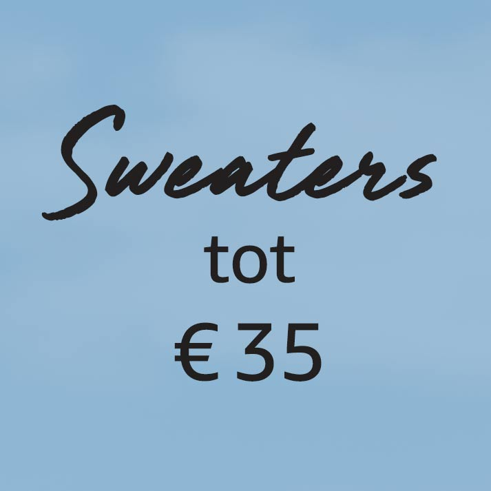 Sweaters tot € 35