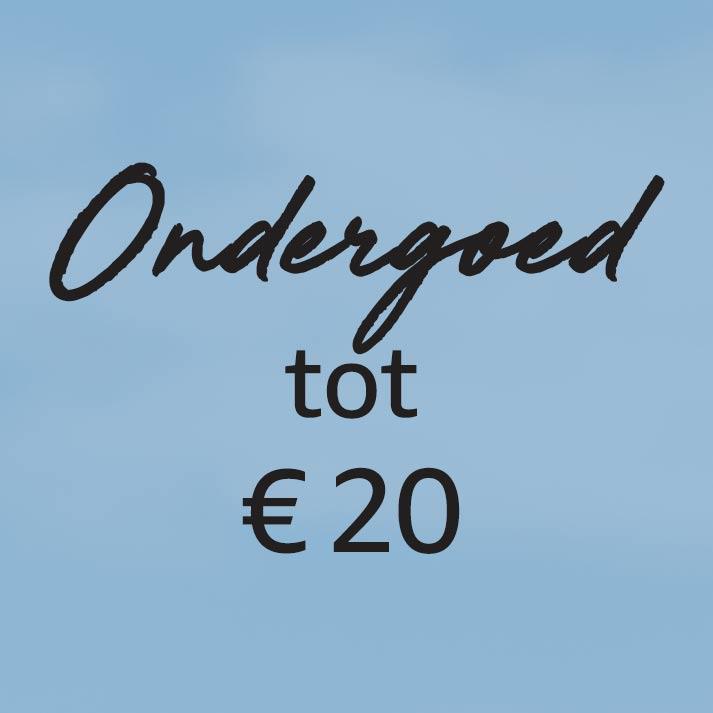 Ondergoed tot € 20