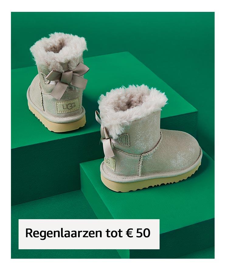 Regenlaarzen tot € 50