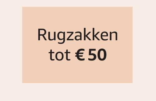 Rugzakken tot € 50