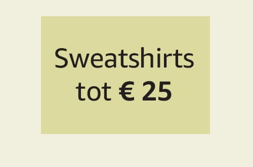 Sweatshirts tot € 25