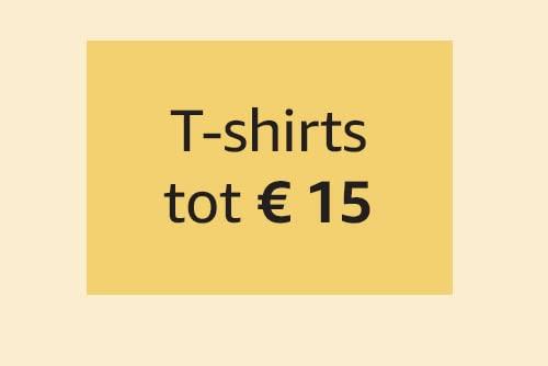 T-shirts tot € 15