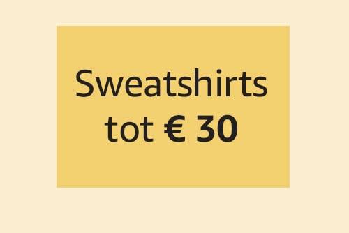 Sweatshirts tot € 30