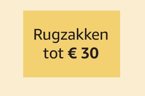 Rugzakken tot € 30