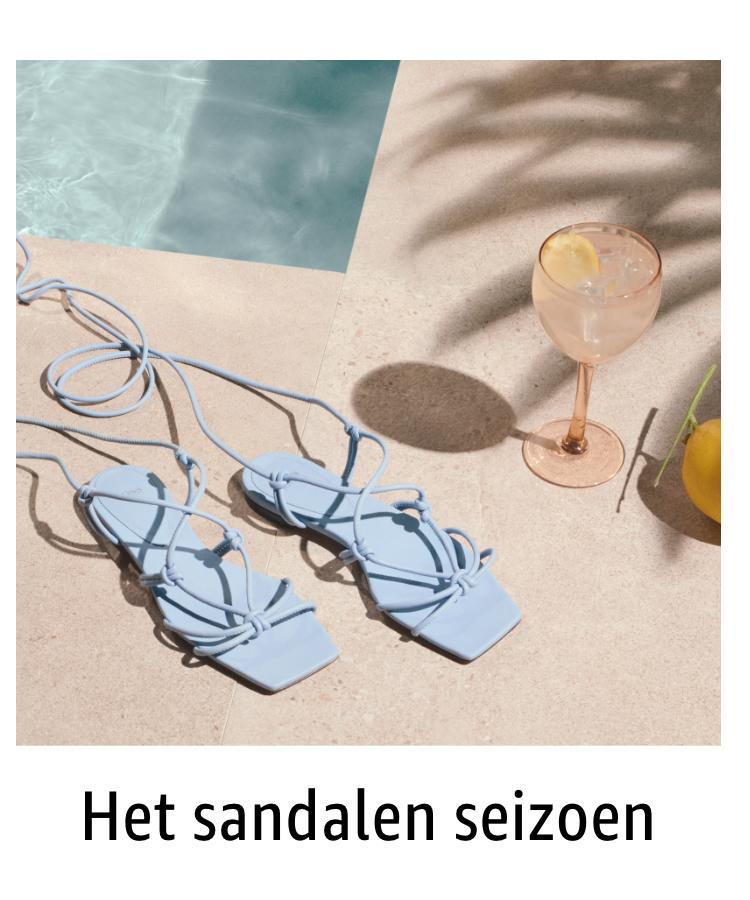 Het sandalen seizoen