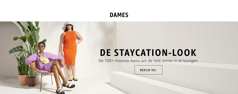 De staycation-look