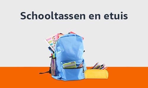 Schooltassen en etuis