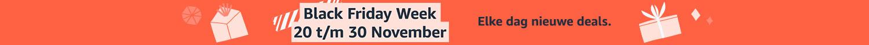 Black Friday Week - Elke dag nieuwe deals