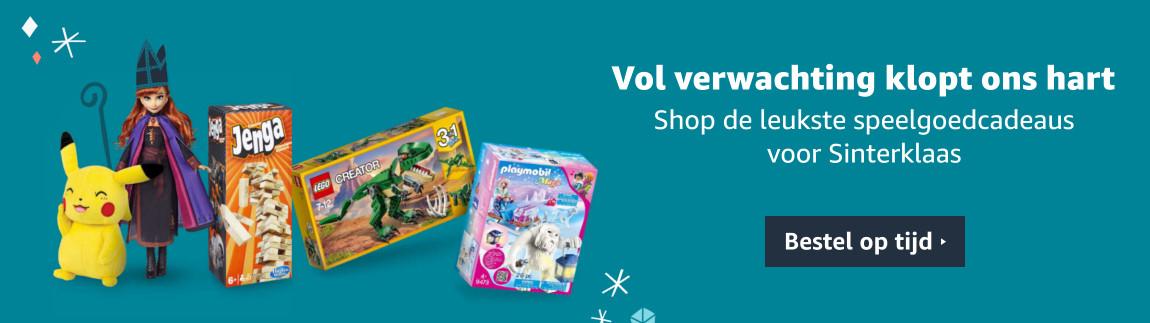 Bestel op tijd - Sinterklaas speelgoedcadeaus