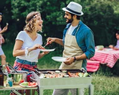 Barbecueën en buiten eten
