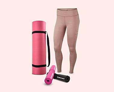 Fitnesskleding en accessoires voor haar