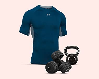 Fitnesskleding en accessoires voor hem