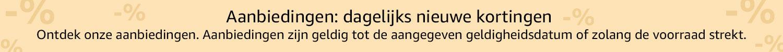 Korting en uitverkoop op Amazon.nl