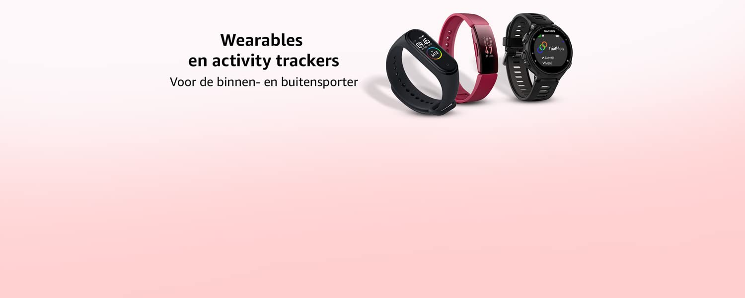 Wearables en activity trackers