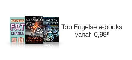 Engelse deals van de maand: top ebooks vanaf 99 cent