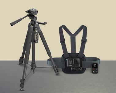 Action camera's en accessoires