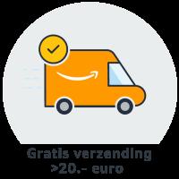 Gratis verzending vanaf 20 Euro