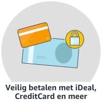 Veilig betalen met iDeal, CreditCard en meer