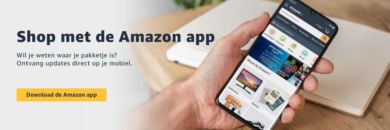 Shop met de Amazon app