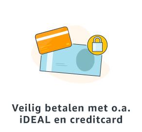 Veilig betalen met o.a. iDEAL en creditcard