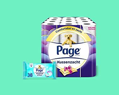 Tot 60% korting op Page toiletpapier